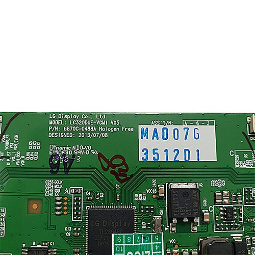 PLACA T-CON LG - Modelo 32LB5600 / 32LB5800 | Código 6870C-0488A