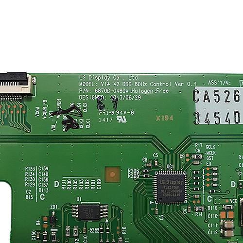 PLACA T-CON LG 42LB5500 / 42LB5600 / 42LB5800 6870C-0480A