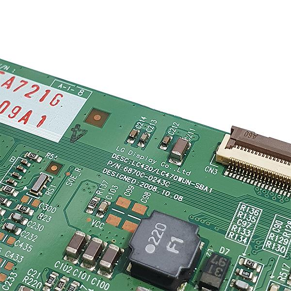 PLACA T-CON LG PHILIPS MODELO 42LF20FR 42PFL3604 CÓDIGO 6870C-0243C