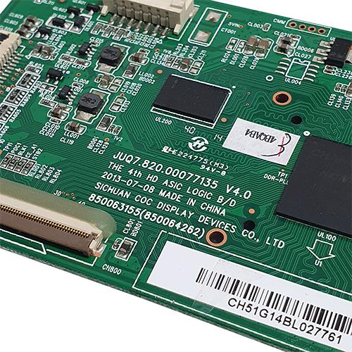 PLACA T-CON PHILCO PH51C20PSG / PH51U20PSGW JUQ7.820.00077135 V4.0