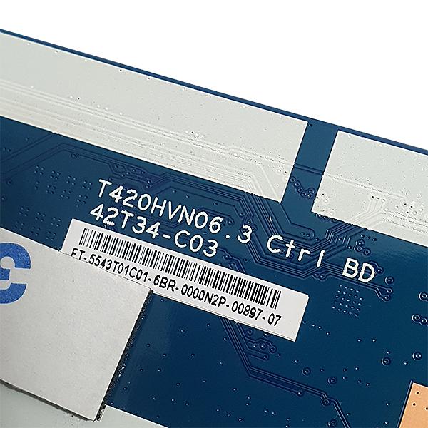 PLACA T-CON PHILIPS MODELO 43PFG5000 T420HVN06.3 CTRL BD 42T34-C03