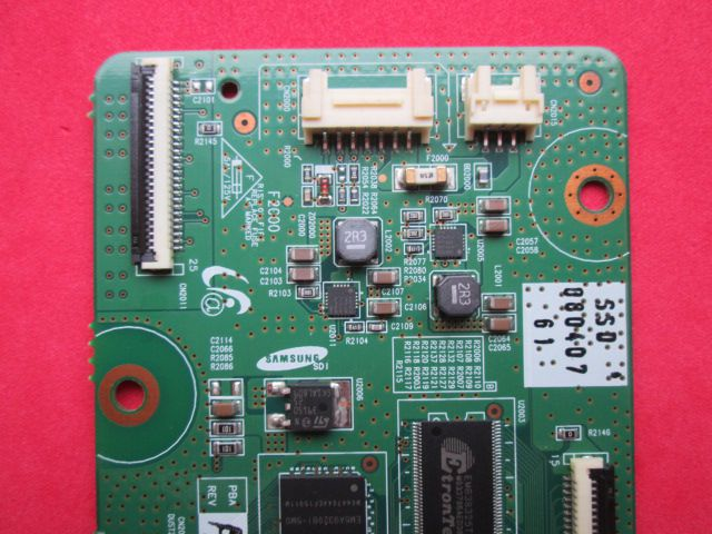 PLACA T-CON SAMSUNG MODELO PL50A450P1XZD CÓDIGO LJ92-01517A / BN96-06766A REV: R2.0