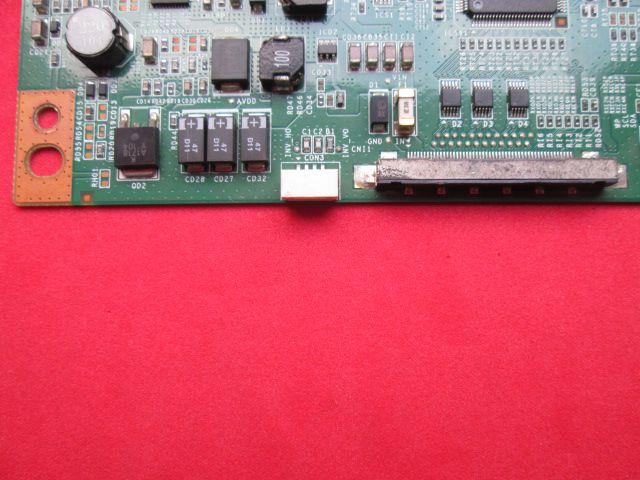 PLACA T-CON SEMP TOSHIBA MODELO 40RV700FDA CÓDIGO A60MB4C2LV0.2