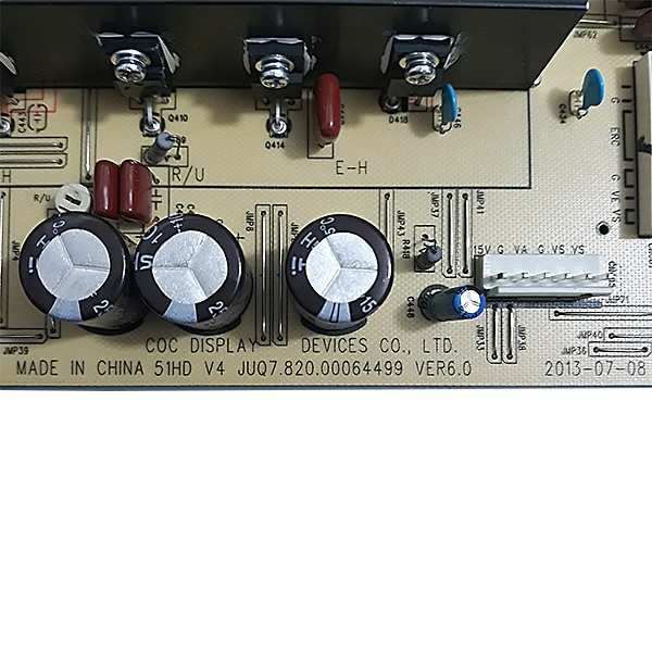 PLACA Y-SUS PHILCO - Modelo PH51C20PSG | Código JUQ7.820.00064499 VER6.0