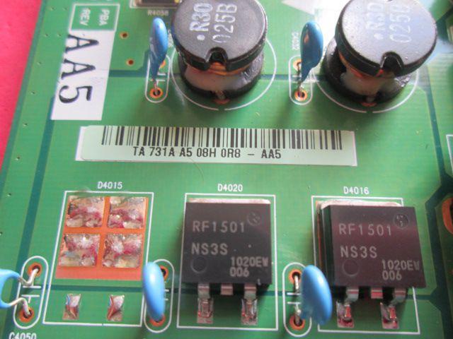 PLACA Y-SUS SAMSUNG MODELO PL50C7000YMXZD CÓDIGO LJ41-08467A / LJ92-01731A REV. AA5