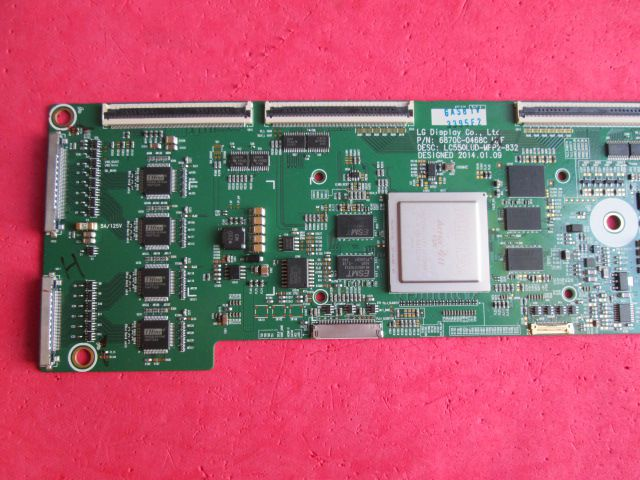 PLACA T-CON  LG  MODELO  LC550LUD-MFP2-832 / 55EA9800 / 55EA9850  6870C-0468C H/F