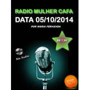 Programa Radio Mulher CAFA 05/10/2014
