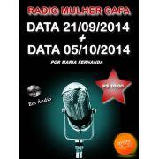 Programas Radio Mulher CAFA 21/09/2014 + 05/10/2014