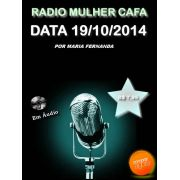 Programa Radio Mulher CAFA 19/10/2014