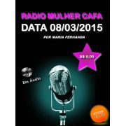Programa Radio Mulher CAFA 08/03/2015