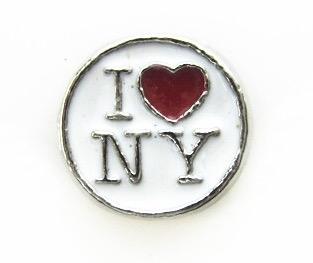 CHARME PARA CÁPSULA, EU AMO NOVA YORK, I LOVE NY.