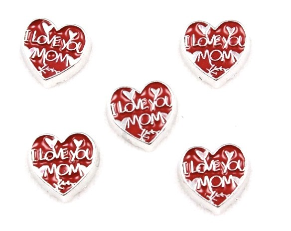 CHARME PARA CÁPSULA , ''I LOVE YOU MOM''.
