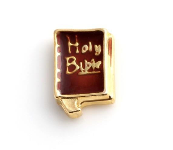 CHARME PARA CÁPSULA - HOLY BIBLE (BÍBLIA SAGRADA)