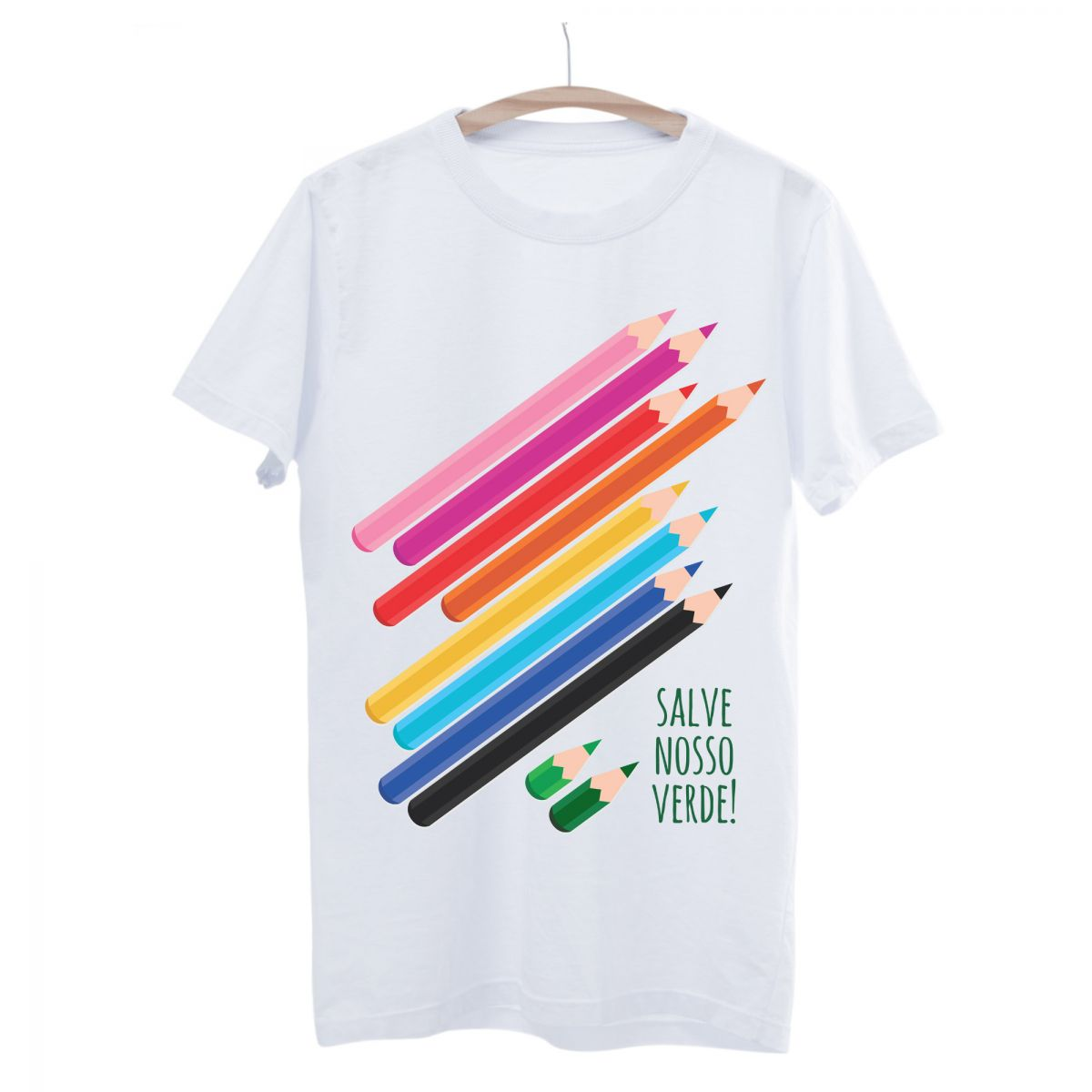 Camiseta Seminate Lápis!