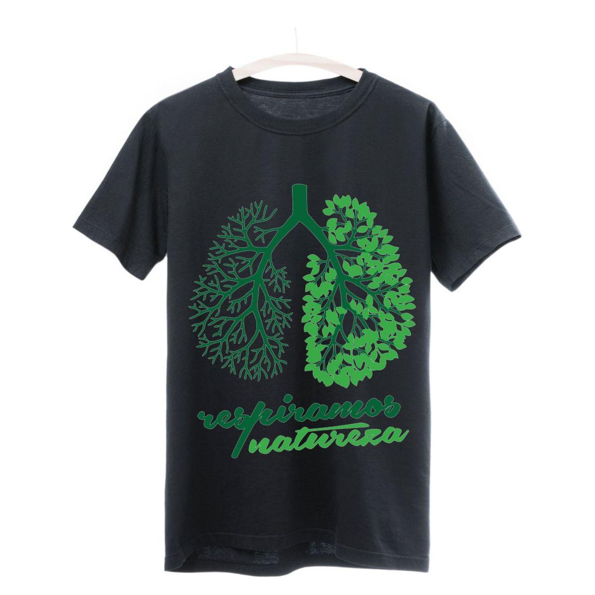 Camiseta Seminate Respiramos Natureza