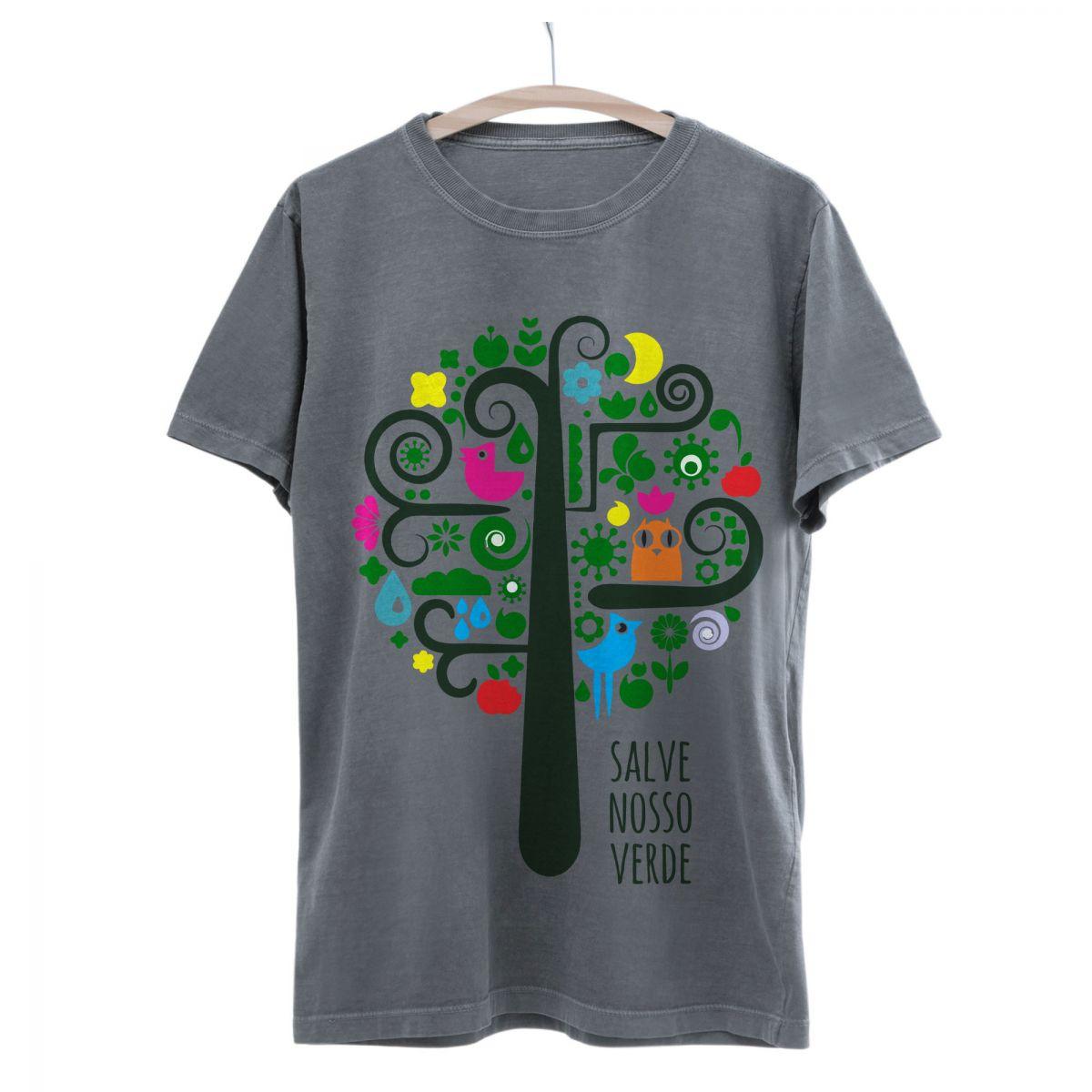 Camiseta Seminate Salve Nosso Verde
