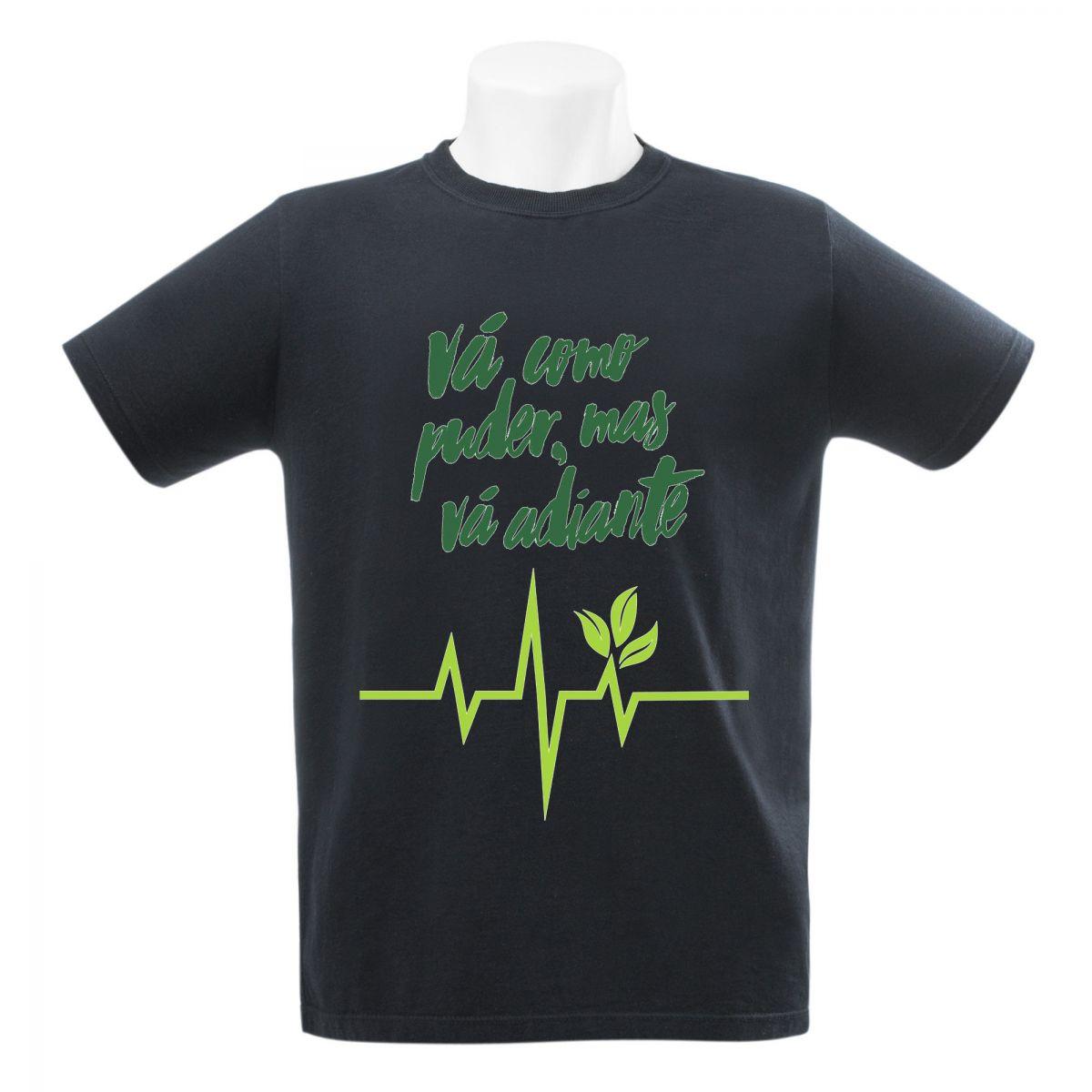Camiseta Seminate Vá Do Jeito Que Der