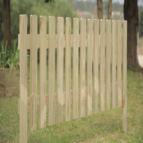 Cerca fixa de madeira tratada 100x120cm (01 unidade)