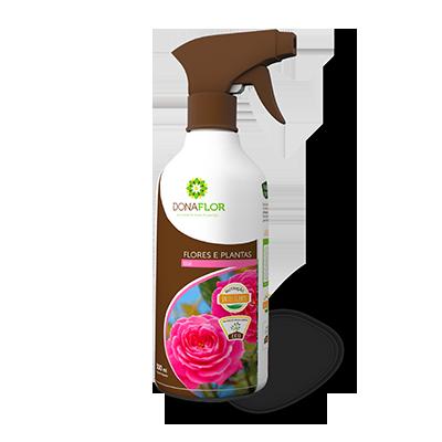 Fertilizante Foliar Dona Flor Rosas 500 ml pronto uso