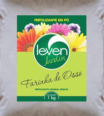 Fertilizante Leven Jardim Farinha de Osso em pó 1kg