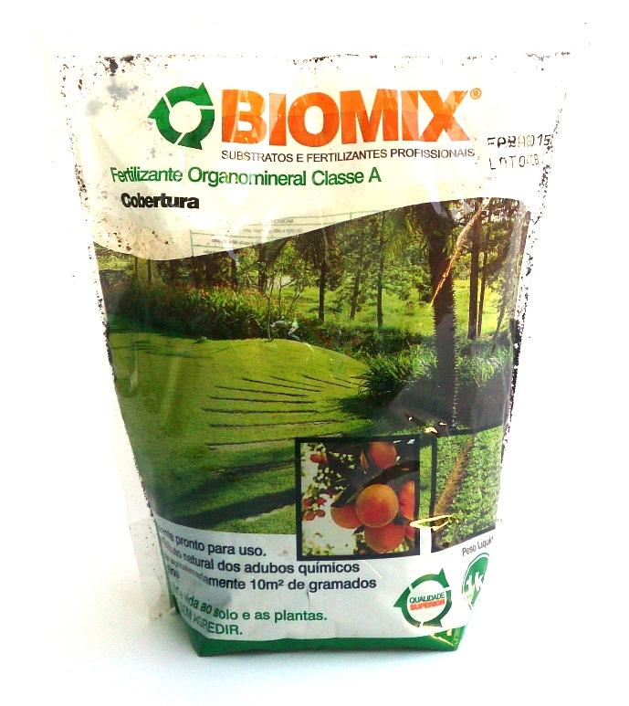 Fertilizante Organomineral Classe A Cobertura 1 kg - Biomix