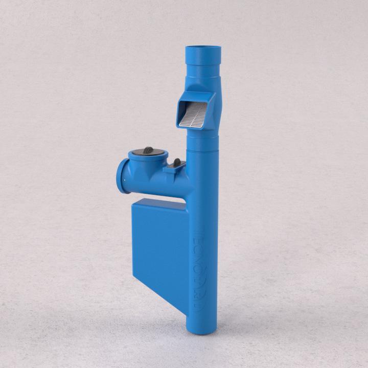 Filtro clorador e separador de folhas - Linha Cisternas - Tecnotri