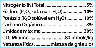 Nutriorgan 05-10-10 1Kg Fertilizante Organomineral Classe A Vitaplan