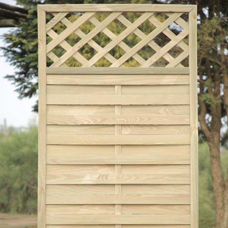 Treliça Biombo de madeira tratada 60x120cm (01 unidade)