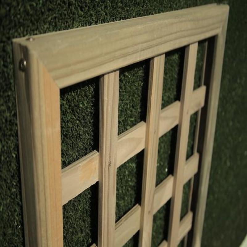 Treliça Ortogonal de madeira tratada 90x180 cm (01 unidade)
