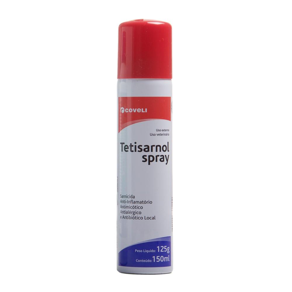 Tetisarnol Spray 125 gr  - Farmácia do Cavalo