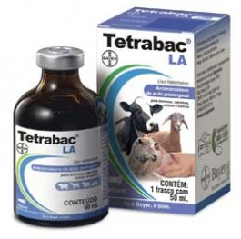 Tetrabac LA 50ml  - Farmácia do Cavalo