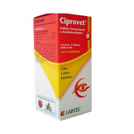 Ciprovet 5ml  - Farmácia do Cavalo
