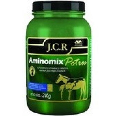 Aminomix Potros JCR 3Kg  - Farmácia do Cavalo