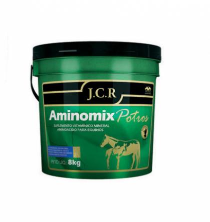 Aminomix Potros JCR 8Kg  - Farmácia do Cavalo