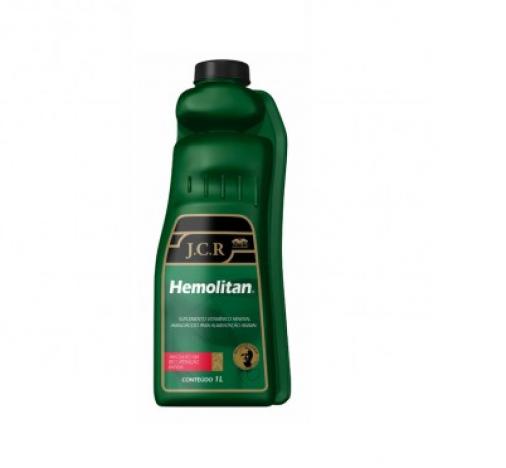 Hemolitan JCR 1L  - Farmácia do Cavalo