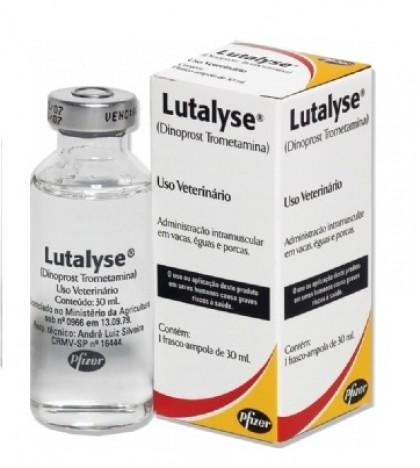 Lutalyse 30ml  - Farmácia do Cavalo