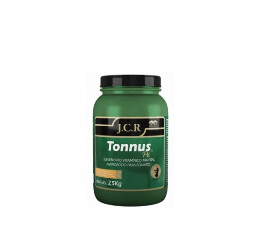 Tonnus Pó JCR 2,5Kg  - Farmácia do Cavalo