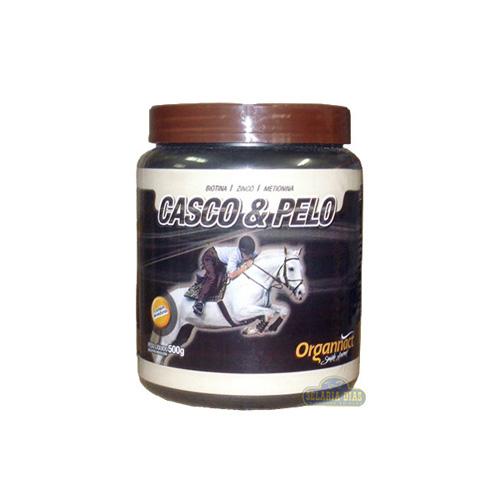 Organnact Casco e Pelo 500g  - Farmácia do Cavalo