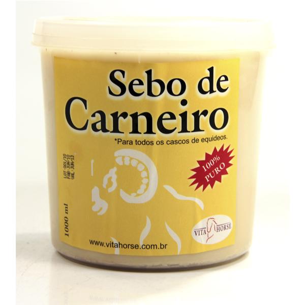 Sebo de Carneiro 1L  - Farmácia do Cavalo