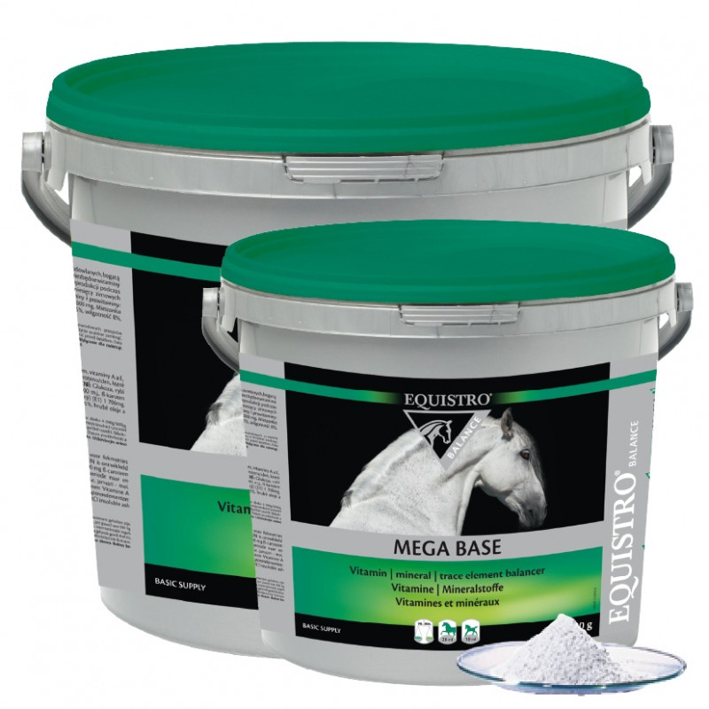 Equistro Mega Base 3kg  - Farmácia do Cavalo