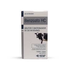 Benzoato HC 50ml  - Farmácia do Cavalo