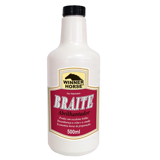 Braite Abrilhantador Refil 500ml  - Farmácia do Cavalo