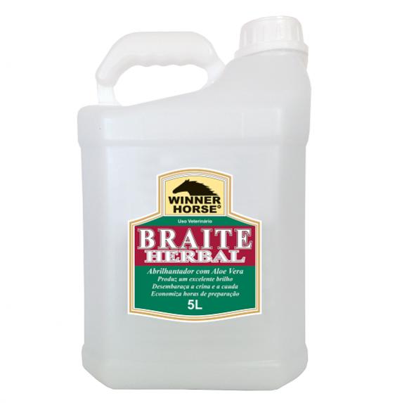 Braite Herbal c/ Aloe Vera Refil 5L  - Farmácia do Cavalo