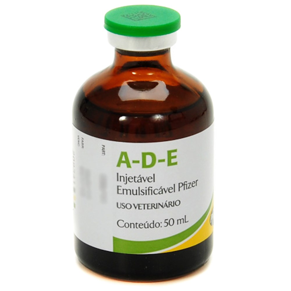 ADE Inj. Emulsificavel 50ml - Zoetis  - Farmácia do Cavalo