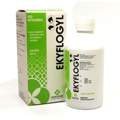 Ekyflogyl 250ml  - Farmácia do Cavalo