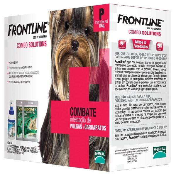 Frontline Combate P - até 10Kg  - Farmácia do Cavalo