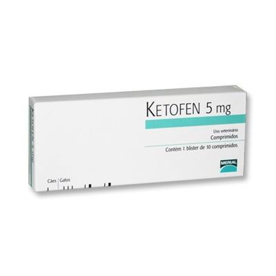 Ketofen 05 mg c/ 10 comp.  - Farmácia do Cavalo