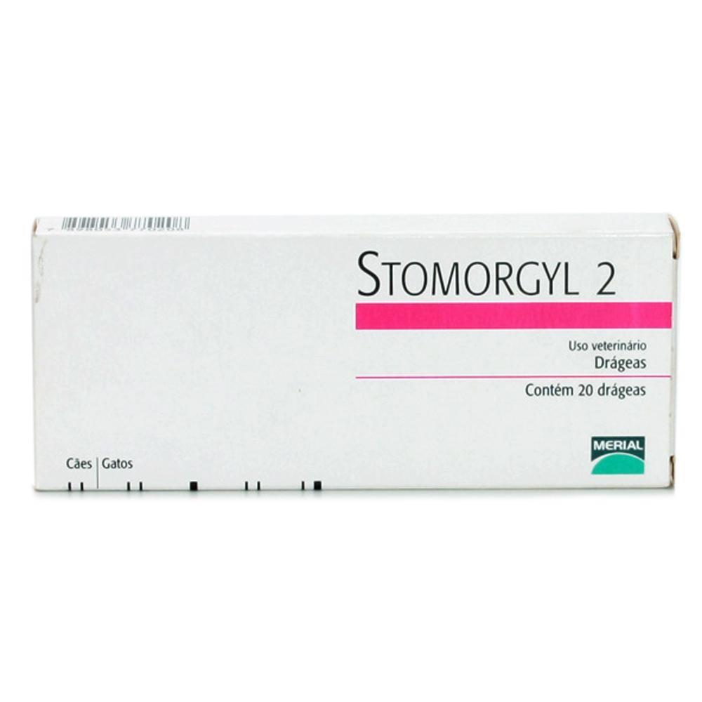 Stomorgil 2 c/ 20 comp.  - Farmácia do Cavalo