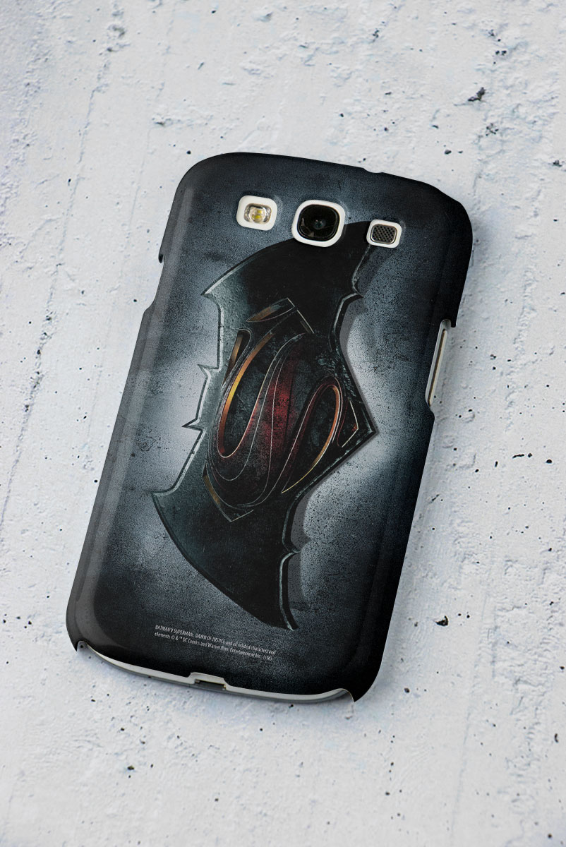 Capa para Samsung Galaxy S3 Batman VS Superman Logo