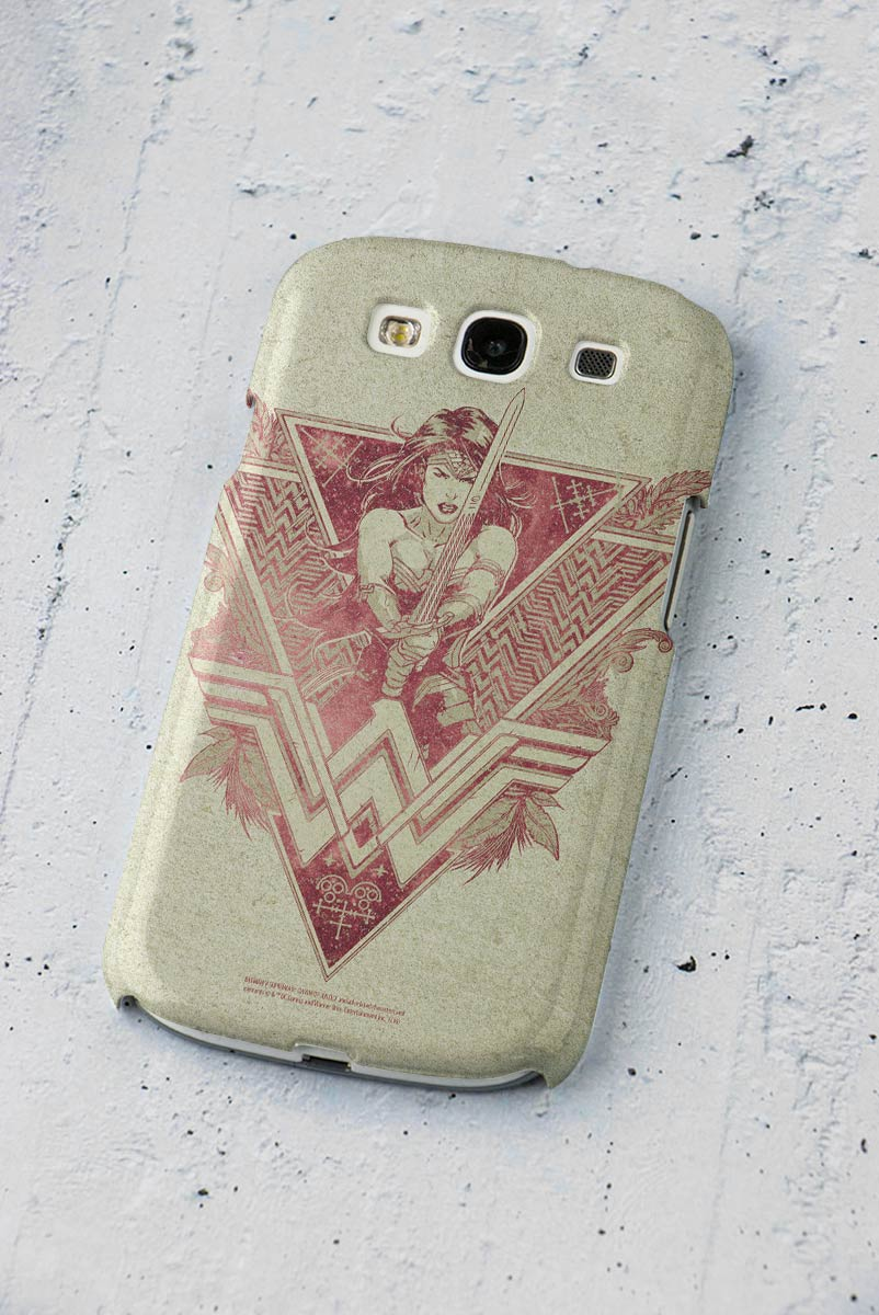 Capa para Samsung Galaxy S3 Wonder Woman Warrior